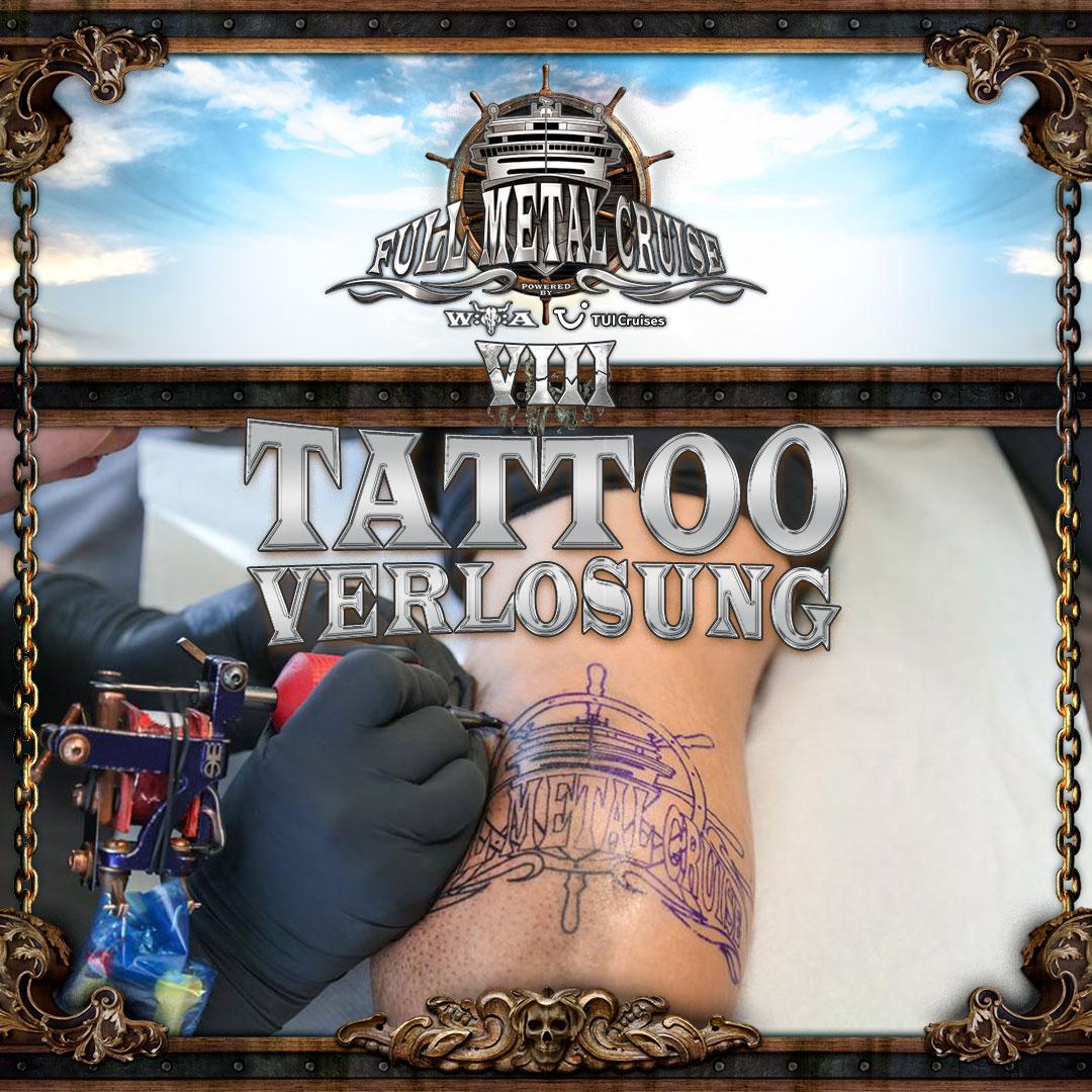 Die Tattoo-Verlosung für die Full Metal Cruise VIII!